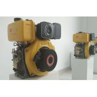 Quality 4kva 3600rpm Manual Starter Small Diesel Engine , Single Cylinder Marine Engine for sale