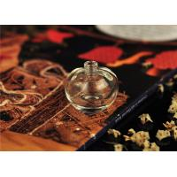 Quality Art Deco Glass Perfume Bottles With Stoppers , Mini 5ml Perfume Bottles for sale