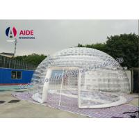 Buy cheap 6m diameter Inflatable Event Tent Ventilation Inflatable dome Double Layer Tent from wholesalers