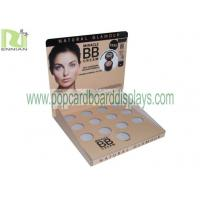 Buy Recycled Color Full Printing Cardboard Counter Displays For Cosmetic Display Stand at wholesale prices