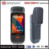 Quality IP65 Laser Handheld RFID Reader , Portable Data Terminal Barcode Scanner Android for sale