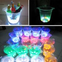 Quality Wholesale Edgelight rotomolding plastic LED ice bucket from Factory Supply Guranteed 3 Years for sale