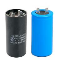 Quality Round Motor Start Capacitor for Air Conditioner and Refrigeration for sale