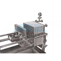 Quality Small Membrane Plate and Frame Filter Press for sale
