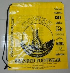 Buy cheap Drawstring Shopping bags, Soft loop, Die cut handle, Flexi loop handle, Thermal from wholesalers