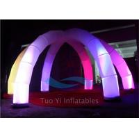 Quality Remote Controlled LED Standing Inflatable Decoration For Event Strong Airproof for sale