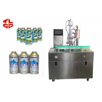 Quality Semi Automatic R410a Refrigerant Filling Machine 5000-8000cans/shift for sale