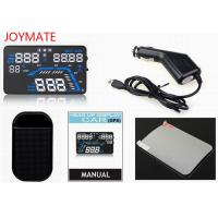 Buy Vehicle mounted black HUD Head Up Display with OBD Projection adaptive cruise at wholesale prices