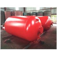 Quality Portable Compressed Air Receiver Tank Vertical / Horizontal Type Large Volume for sale