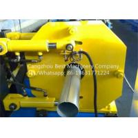 Quality Hydraulic Gutter Roll Forming Machine , Steel Rain Down Pipe Making Machine for sale