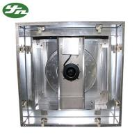 Quality 304 Stainless Steel Exhaust Fan Filter BFU Hepa Box Low Noise Type For Clean Room for sale