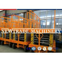 Quality Heavy Duty Hydraulic Lifting Platform For Warehouse Cargo Loading , Scissor Lift Platform for sale