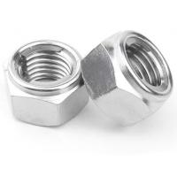 China NTE All Metal Lock Nut Stainless Steel Prevailing Torque Type 4.8 Grade for sale