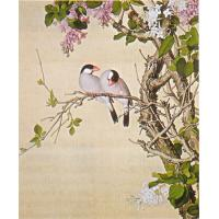 Quality bamboo painting China art painting interior wall decor for sale