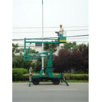 Quality Articulated Mounted Hydraulic Boom Lift 2.8 × 1.2 × 2.45m With 160 - 510 kg Rated Load for sale