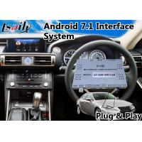 Buy cheap Android 7.1 GPS Navigation System for 2013-2016 Lexus Is 250 Mouse Control from wholesalers
