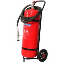 Quality Wheeled Trolley Type ABC Dry Powder Fire Extinguisher 50KG Smooth Surface Light for sale