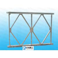 Quality Compact 200 Bailey Truss Bridge Span Up 60.96 Meters Easy Install Anti Skid Surface for sale