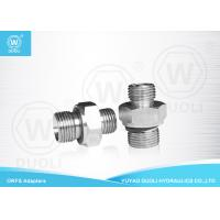 Buy cheap ORFS Male O RING And BSP Male ED Seal Hydraulic Adapters By Carbon Steel from wholesalers