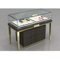 Quality Custom Jewelry Display Cases With Sliding door / Pull Out Door for sale