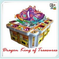 Quality 8P seafood paradise suchi fishing dragon king of treasure arcade vending machine for sale