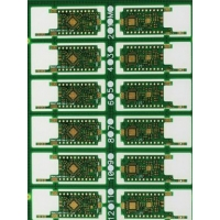 Quality Rigid ENIG High Frequency PCB Board Green Solder Mask 0.80mm Thickness for sale