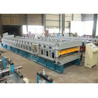 Buy cheap Europeant Structure High Speed Double Layer Roll Forming Machine with ISO system from wholesalers