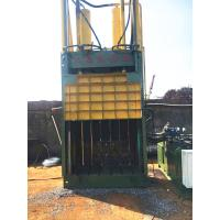 Quality 25 Tons Paper Baler Machine Built - In Cabinet Tied Belay Preset Slots for sale