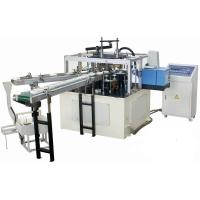 Quality High Efficiency Automatic Paper Lid Making Machine With Hot Melt Glue Box for sale