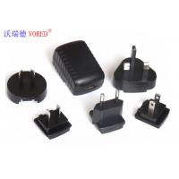 Quality Black Interchangeable Power Supply PC ABS Material 5 Volt Output Voltage for sale