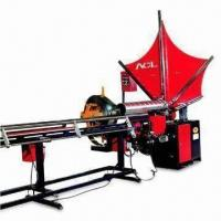 Quality Spiral Duct Machine with 137mm Strip Width, High Speed Cutting Unit and Easy to Change Diameter for sale