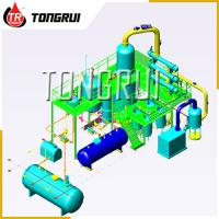 Quality Used Car Oil Distillation Refinery Machine / Waste Engine Oil Recycling Distillation Plant for sale