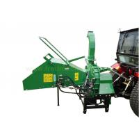 Hydraulic Feeding Towable Wood Chipper With 360 ° Rotatable Wood Ejection
