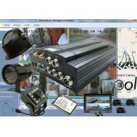 Quality H.264 HDD Mobile DVR Car Remote Viewing and Tracking System 3G GPS Tracker DVR for sale