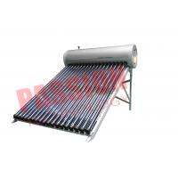 Quality Slope Roof Heat Pipe Thermal Solar Water Heater for sale