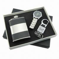Quality Promotional Gift Set(Watch, USB available), Measures 17.8x16x2.5cm for sale