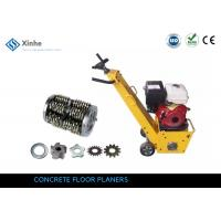 China 8 Inch Gasoline Heavy Duty Floor Grinder & Replaceable Drum Cutters For Industrial Floors on sale