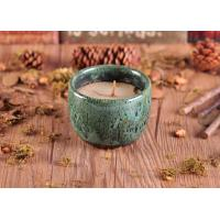 Quality Glazed Different Colors Ceramic Candle Holder for Home Decor for sale