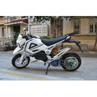 60 Km / H 1500w Electric Scooter Motorcycle With Lead - Acid Battery 72V 20AH