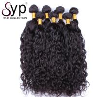 China Salon Water Wave Indian Remy Hair Extensions No Shedding Natural Looking on sale