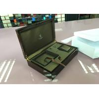 Buy cheap Professional Custom MDF Wooden Mirror Jewelry Box With Pillow Inner , ECO Friendly from wholesalers