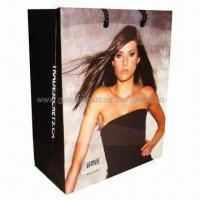 Quality Paper Gift Bag, Made of Art Paper, with Full Color Printing for sale