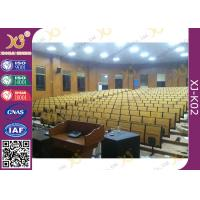 Quality High School Lecture Hall Seating Metal Folding High Density Multilayer Board for sale