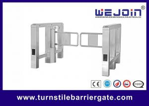 China Passage access control automatic security 304 stainless steel swing barrier on sale