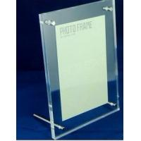 Quality 4x6 clear acrylic magnetic photo frames,fashion OEM acrylic frame,acrylic photo frame for sale