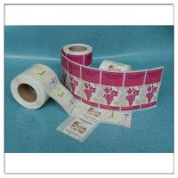 Custom Printed Adhesive Roll Label Sticker Logo Printed Roll Label,Custom Printed Roll Self Adhesive Logo Label for sale
