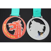 Quality Die Casting Sports Award Medals 80 * 3mm For Dragon Boat Race / Sailboat for sale