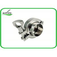 """Quality SMS3017 Sanitary Tri Clamp Fittings Aseptic Clamp Pipe Coupling 1""""-4"""" for sale"""