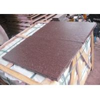 Living Room Decoration12x24 Stone Tile , Red Phrphyry Natural Stone Hearth Slabs for sale