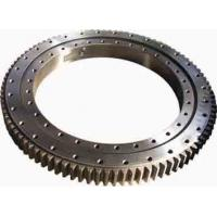 Quality Single Row Four Point Contact Ball Slewing Ring Bearings Without Gear For Axial Load for sale